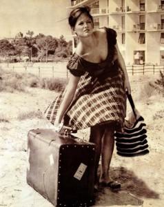 Žena na odchode