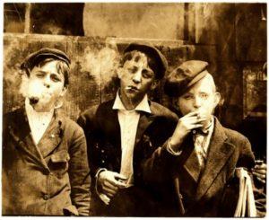 co sposobuje fajcenie v mladom veku