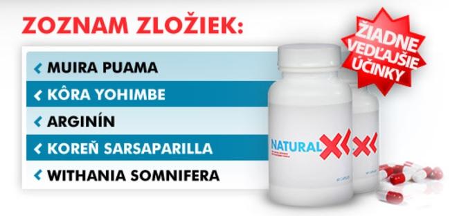 zloženie Natural XL zo stránky