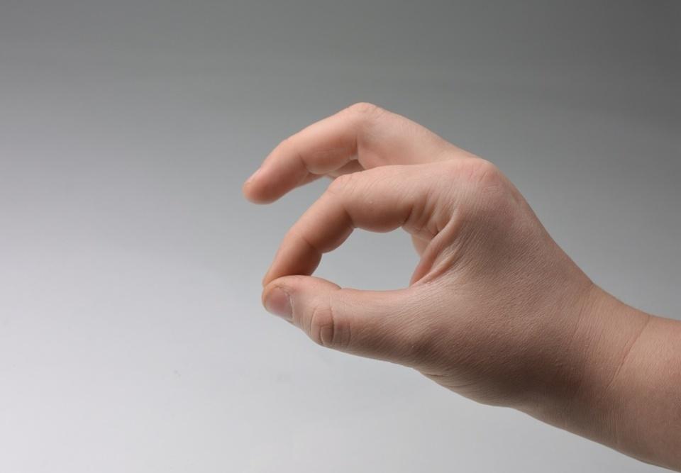 úchop ruky pre jelqing