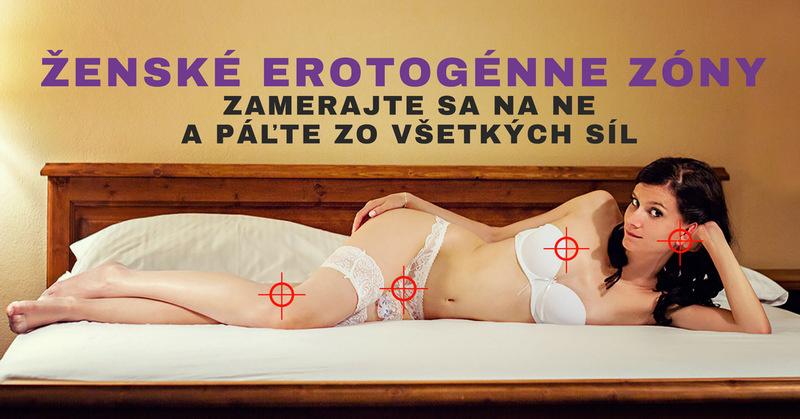 ženské erotogénne zóny