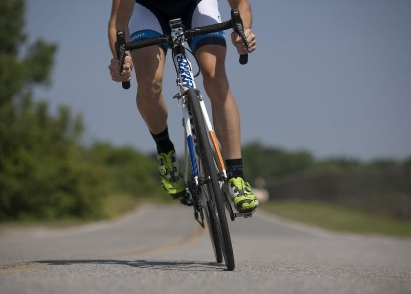 cyklista a potencia
