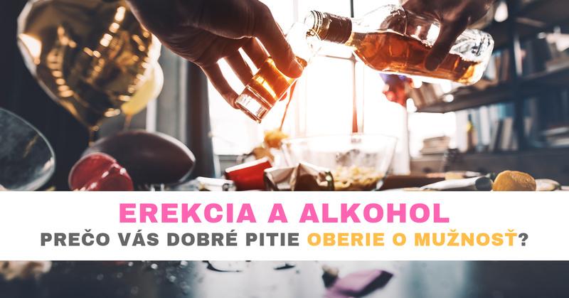 erekcia a alkohol