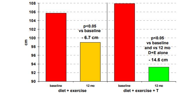liečba testosterónom a chudnutie