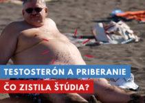 testosterón a priberanie