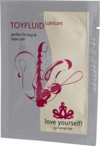 lubrikačný gél toyfluid 3ml