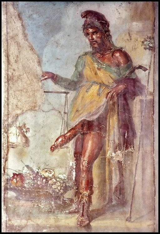 grécky boh Priapus
