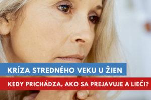 kríza stredného veku u žien