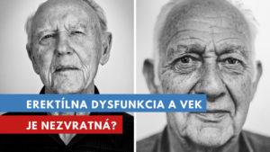 erektílna dysfunkcia a vek