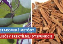 staroveké metódy liečby erektílnej dysfunkcie