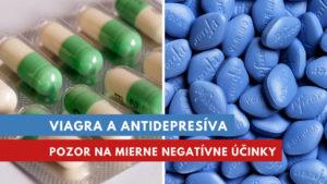 Viagra a antidepresíva