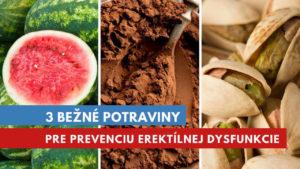 liečba erektílnej dysfunkcie stravou