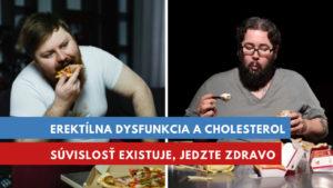 erektílna dysfunkcia a vysoký cholesterol