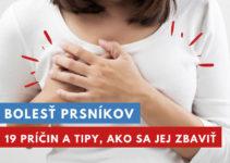 bolesť prsníkov