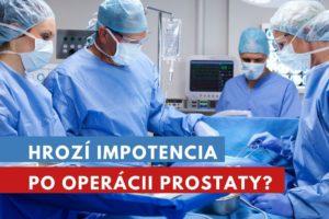 impotencia po operácii prostaty