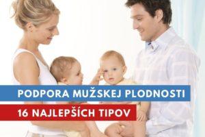 podpora mužskej plodnosti